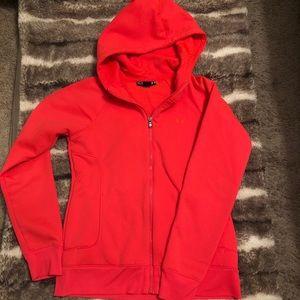 Under Armour Hooded Zip Up Sweatshirt/Jacket